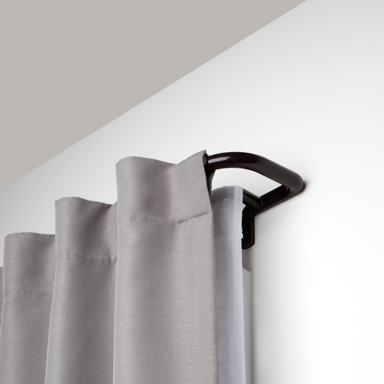 Twilight Auburn Bronze Double 28 48 Curtain Rod With Images Double Rod Curtains Double Curtains Double Curtain Rod Set