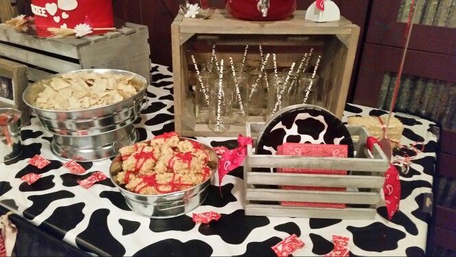 Country baby shower by Decorate by Design Casper Wyoming events by Custom Decorate By Design