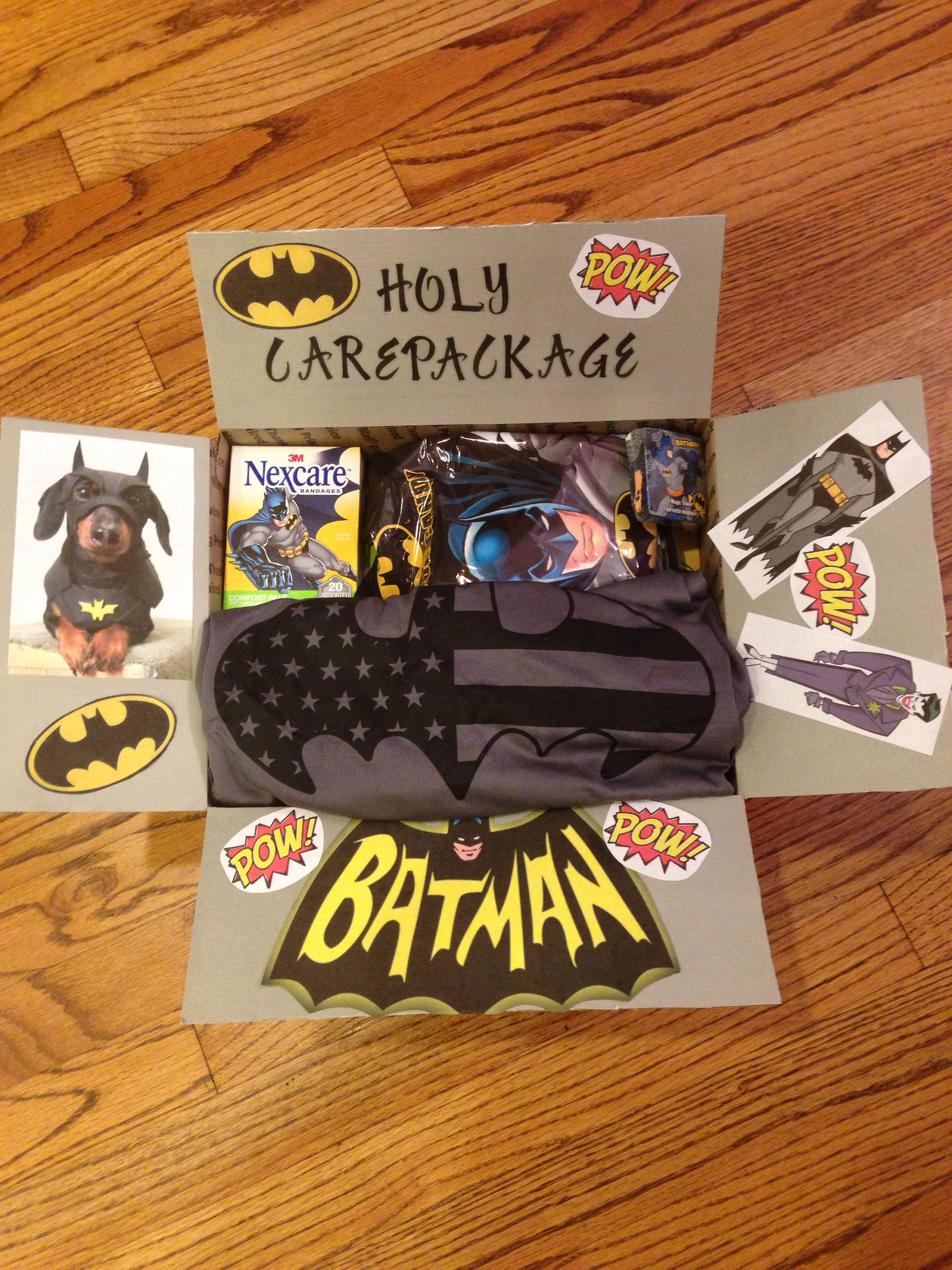 Holy Care Package Batman Care Package For My Batman