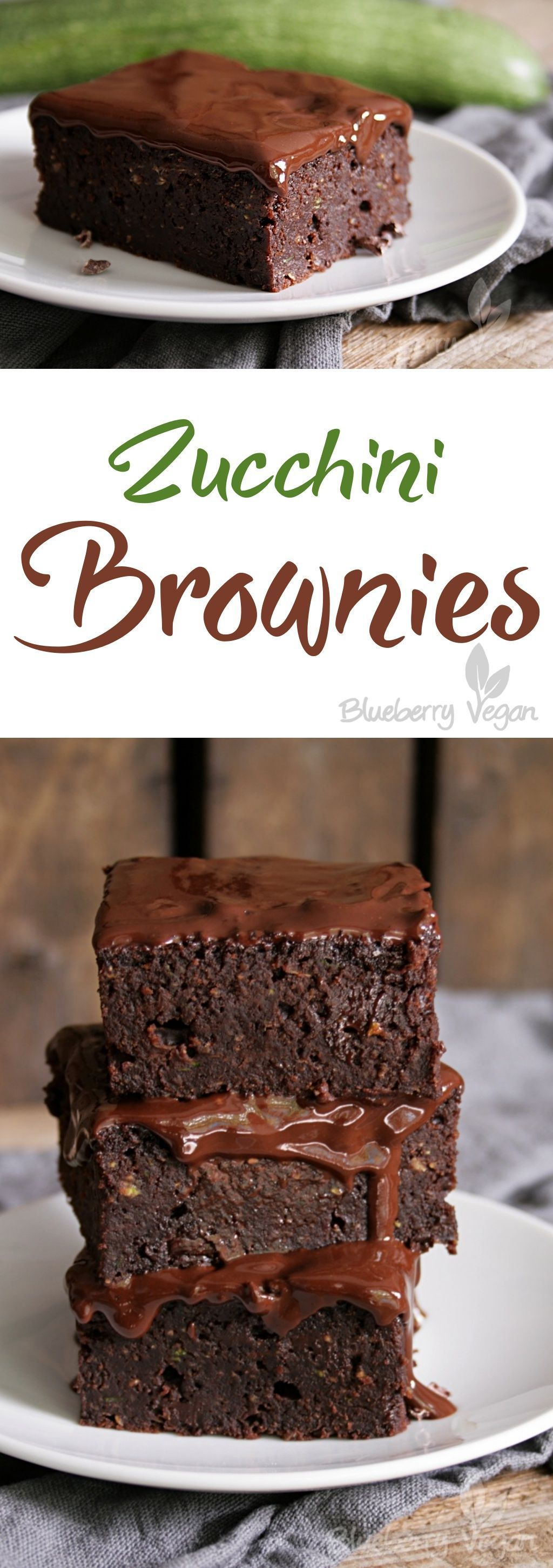 ZucchiniBrownies Mit Leckerem Guss ZucchiniBrownies mit leckerem Guss Vegan Cake vegan zucchini cakes