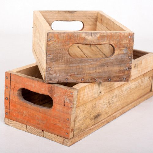 Long Wooden Flower Boxes