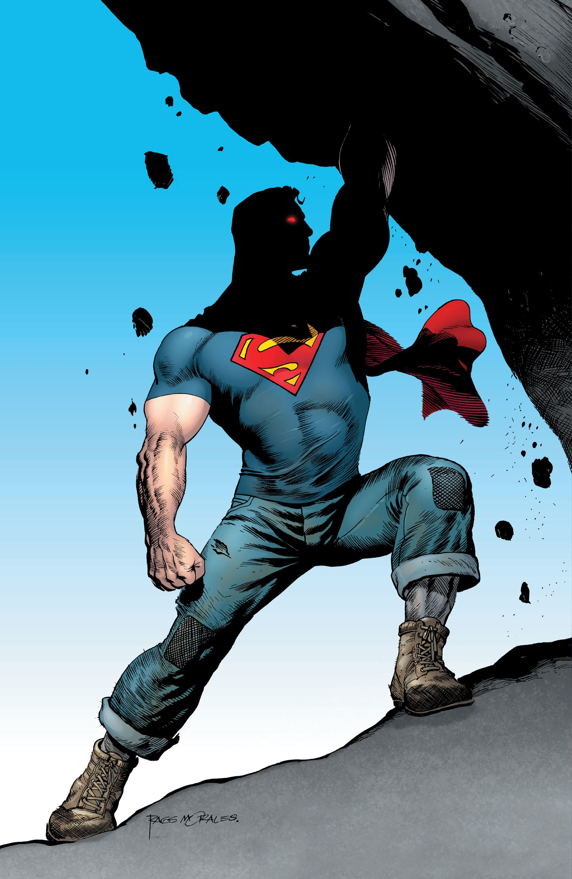 Momento clássico dos quadrinhos do Superman