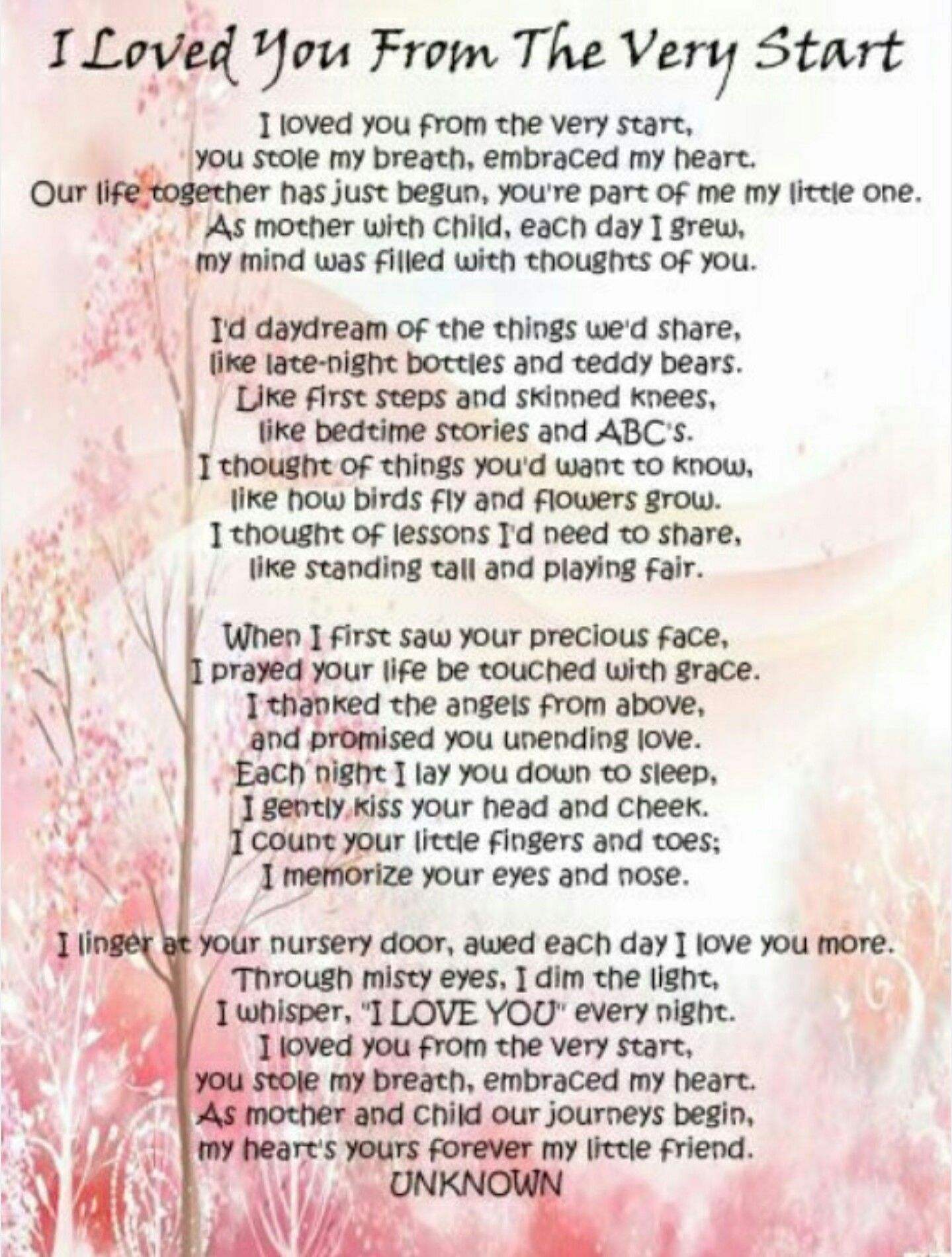 Pin by TaMmI on *Keren* | Baby girl quotes, Mother daughter quotes