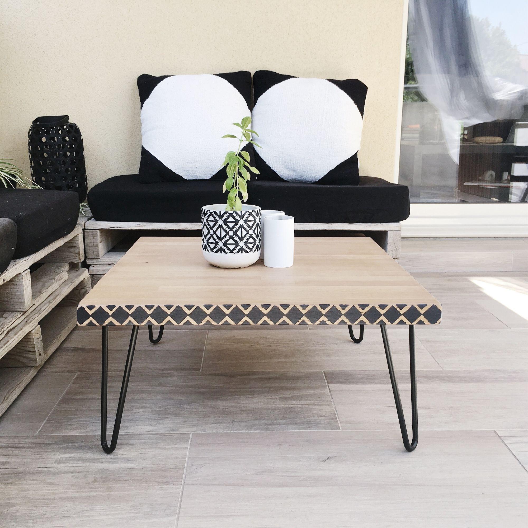 Diy Table Basse Ethnique Recycler Un Plan De Travail Diy Diydeco Styleethnique Diyforhome Ethnique Deco Decoration Decoet Diy Deco Deco Deco Ethnique
