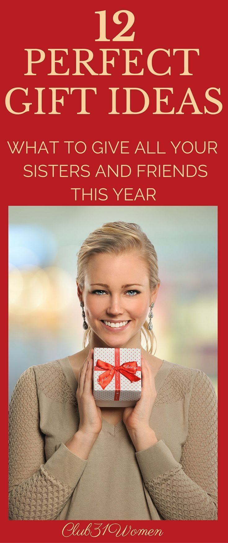 12 perfect gift ideas what to give all your sisters and