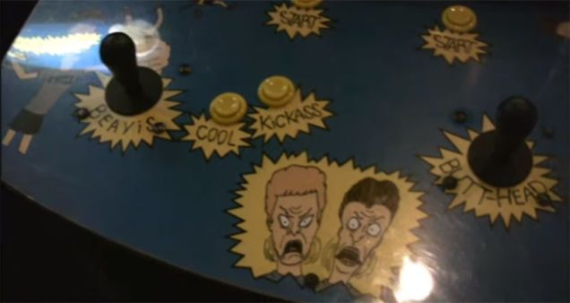 LostBeavis and Butt-Head Arcade Game Found Restored And Now Playable