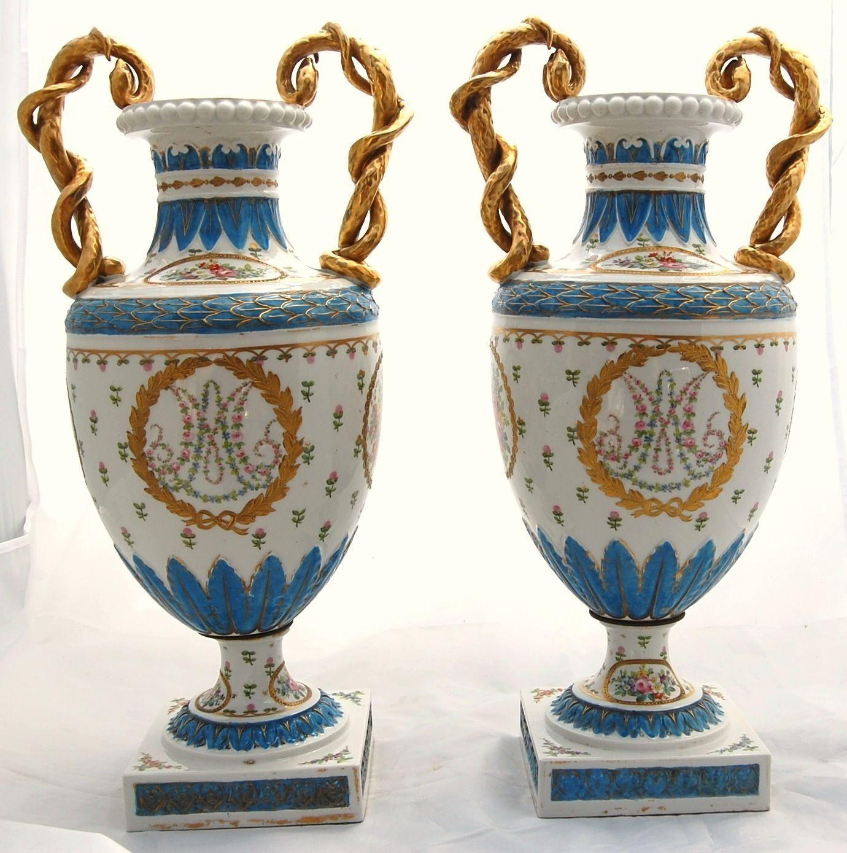 French antique marie antoinette porcelain urn vase dresden flower french antique marie antoinette porcelain urn vase dresden flower samson sevres reviewsmspy