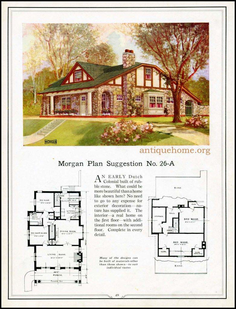 Morgan House Plan Suggestions Building With Assurance House Blueprints Vintage House Plans House Plans