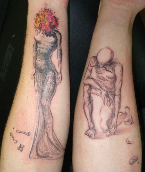 Salvador Dali Tattoo Dali Tattoo: Dali Tattoo - LiLz.eu - Tattoo DE