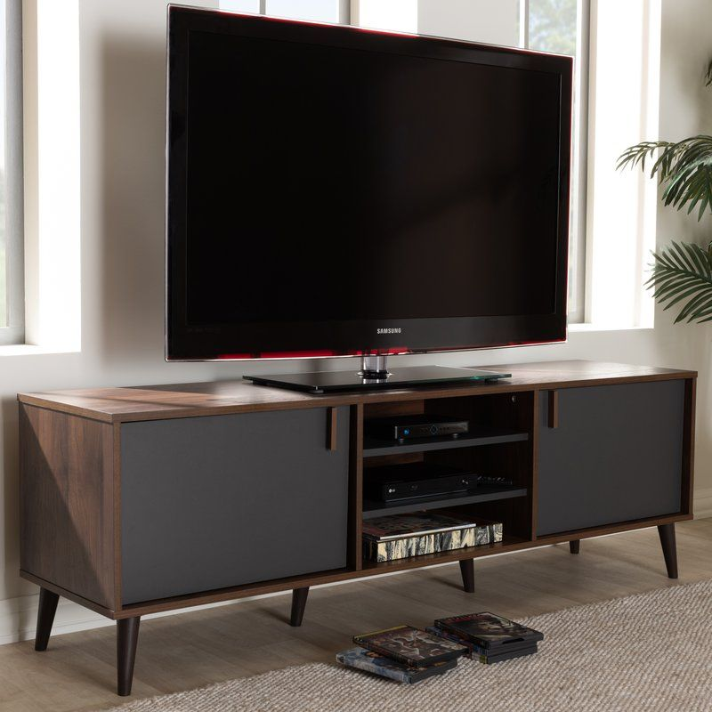 Osiris Tv Stand For Tvs Up To 70 Baxton Studio Furniture