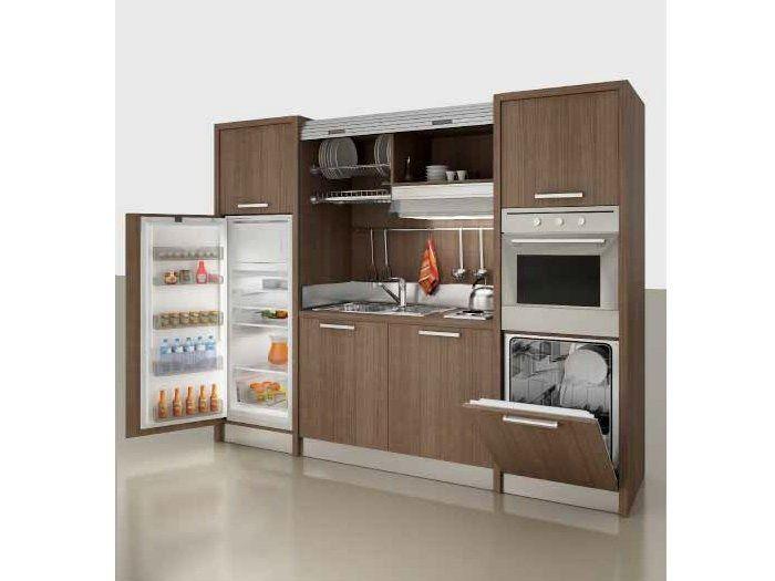 Mini kitchen ZEUS Zeus Collection by MOBILSPAZIO Contract