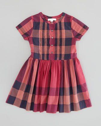d52ece40a59b Expensive Sigh  Girls   Check Pleat-Front Dress