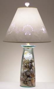Diy Shell Lamp Seashells Lamp Beach Themed Room Make A Lamp