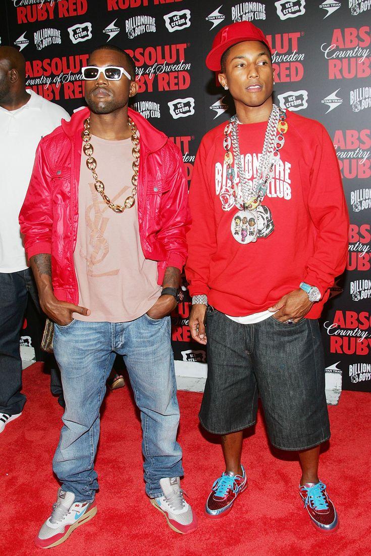 How To Dress Like Kanye West Pharrell Williams In 2006 2000s Fashion Men Pharrell Pharrell Williams
