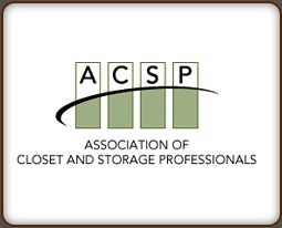 Member of Association of Closet & Storage Professionals