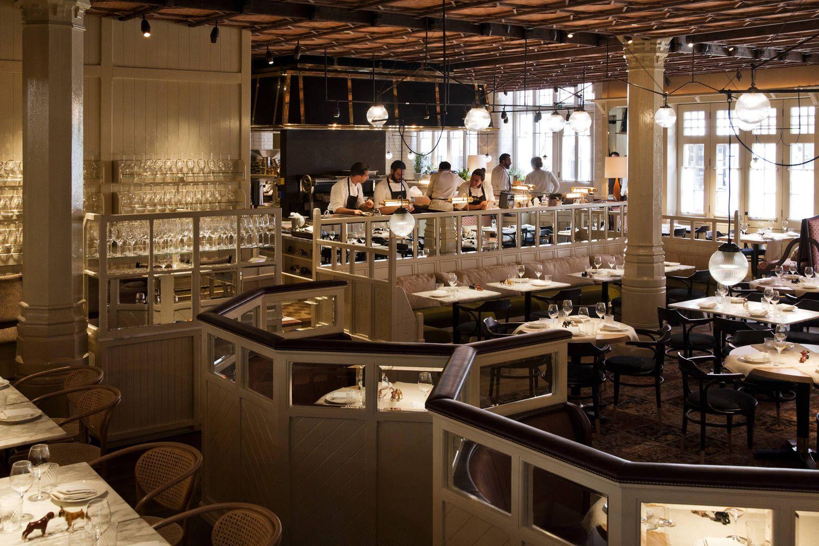 Lunch Spot Near Regent Park 5 Star Restaurants In London Restaurant Chiltern Firehouse Luxury