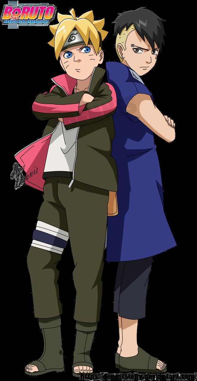 Boruto and Kawaki - Naruto Next Generation by DennisStelly ...