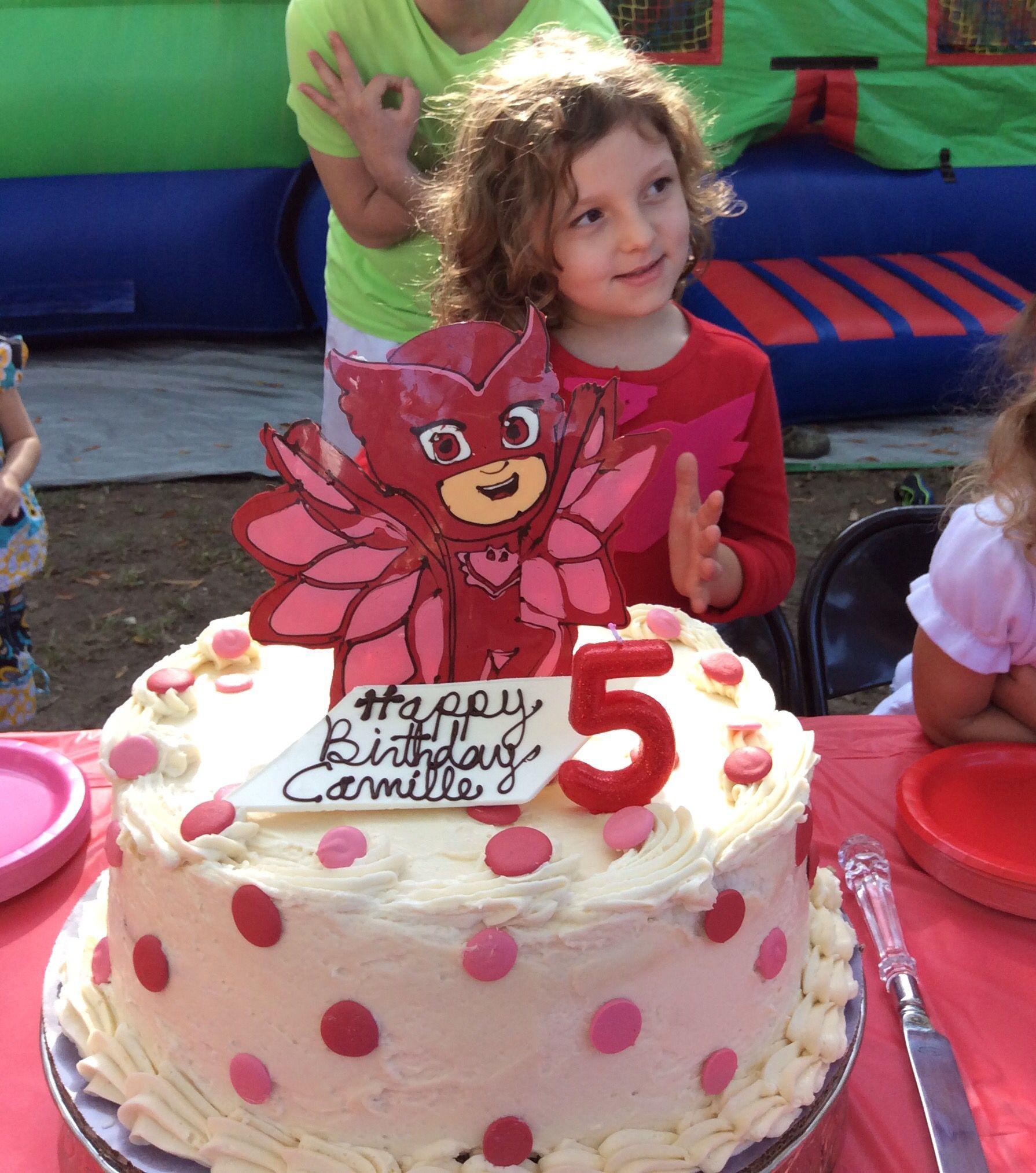 Owlette Pj Mask Pj Masks Birthday Cake Birthday Cake