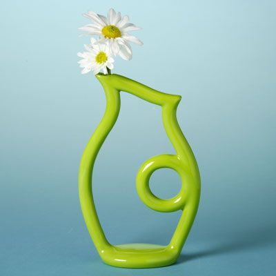 Captivating Coated In Concepts® Underglazes, The Duncan Oh Four™ Contempo Outline Vase  Is Too Pictures Gallery