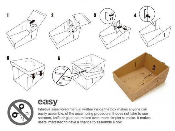 Hwang Sang Pil Shoe Box Recycled 3 Shoe Box Recycle Box Recycling
