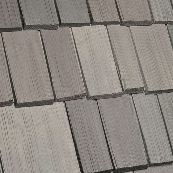 Best Davinci Roof Scapes Faux Shake Bellaforté Weathered Gray 400 x 300