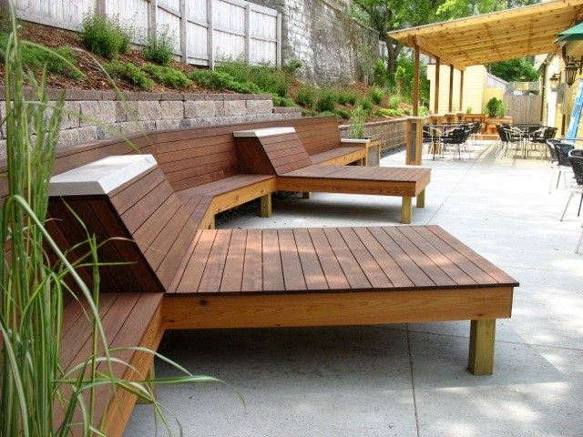 Modern Wood Patio Furniture With Patio Furniture Modern ...