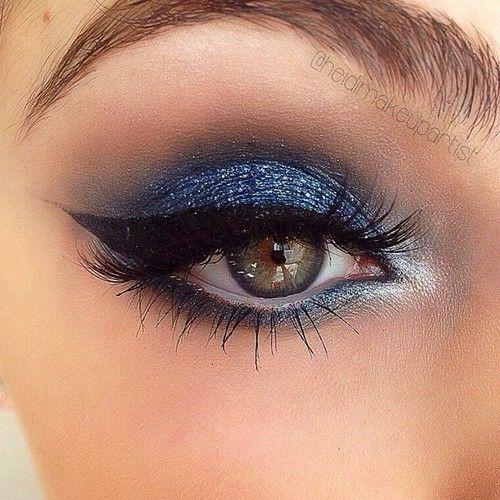 Maquillaje En Azul Maquillaje Azul Maquillaje Ojos Azules Maquillaje En Tonos Azules