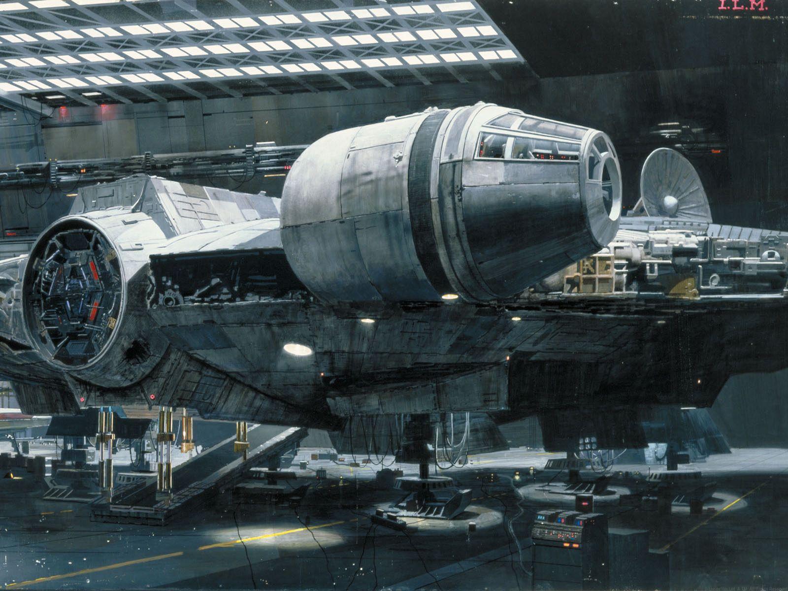 Displaying images for millenium falcon cockpit wallpaper - Trek