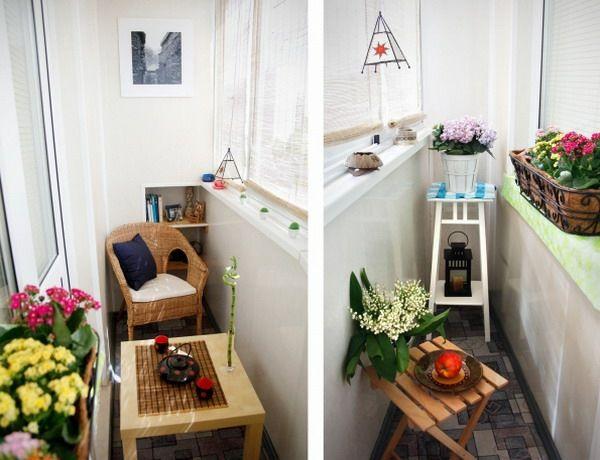 Cooler Kleiner Balkon ? 40 Kreative Und Praktische Ideen - Kleiner ... Ideen Einrichtung Der Gartenterrasse