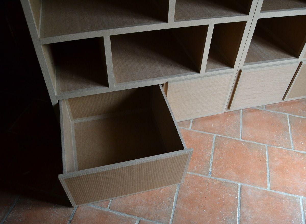 Grand Tiroir En Carton Sg Mobilier Carton Carton Penderie Rangement Carton Meubles En Carton