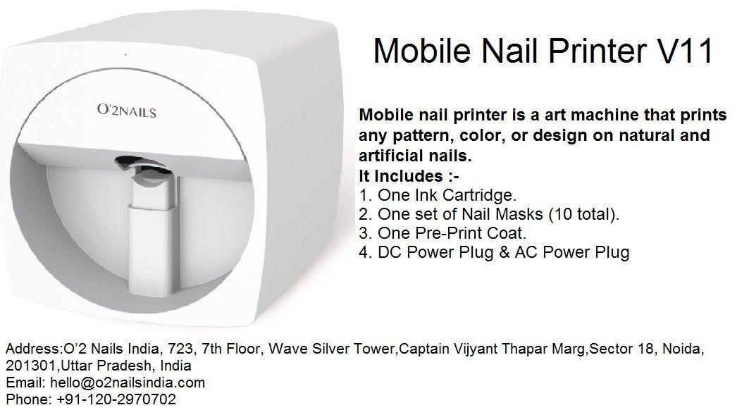 Pin on digital nail printer india