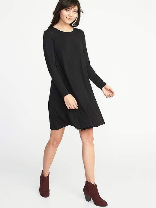 ff2dbc30853d Jersey Swing Dress for Women   Products   Swing dress, Dresses ...