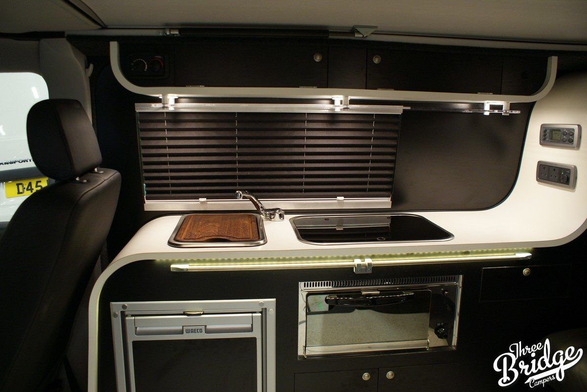 VW Transporter T5 T6 Camper Conversion - Infinity 2 Interior | vw t5 ...