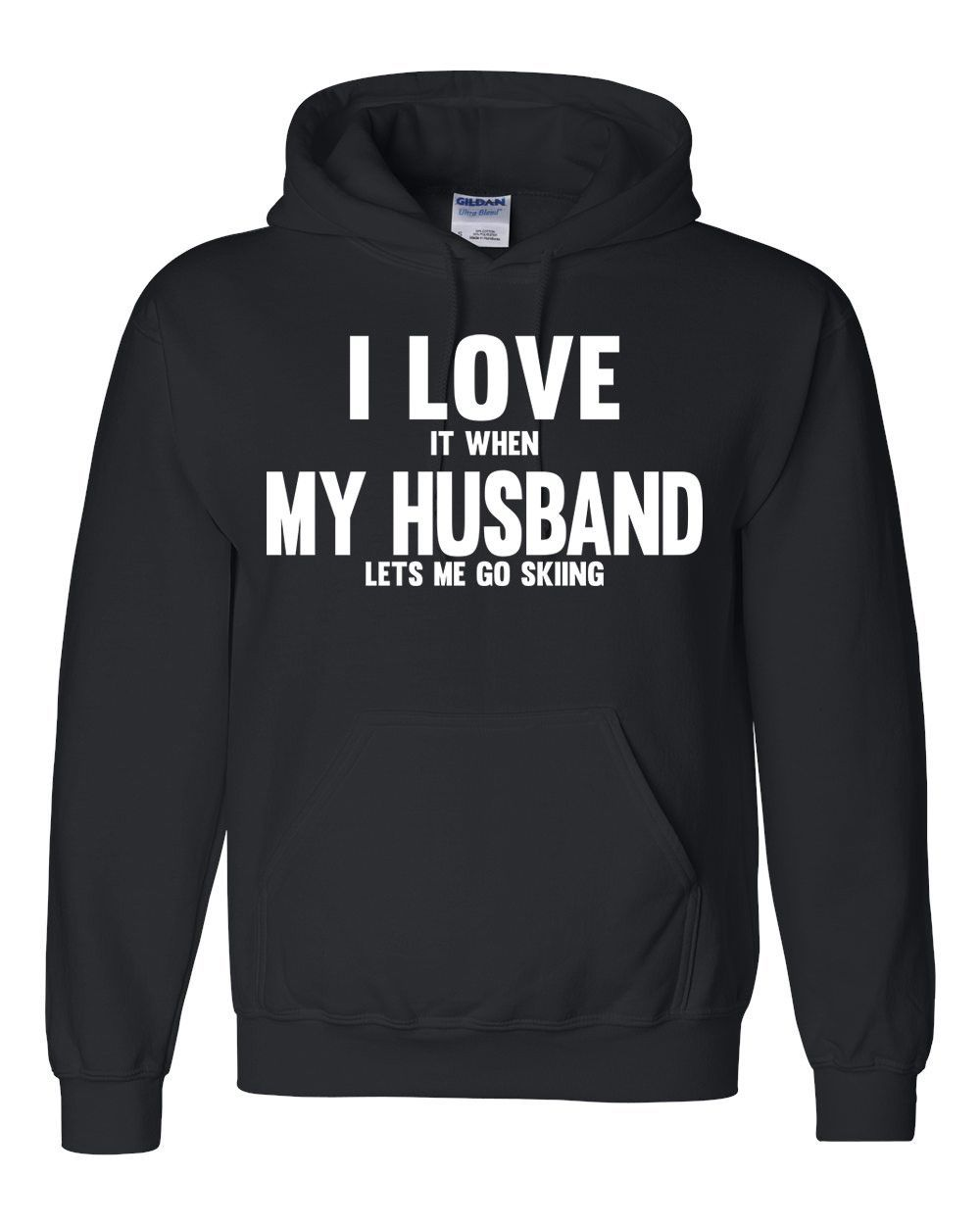 6182b019 I love it when my husband lets me go skiing Hoodie | Hoodies ...