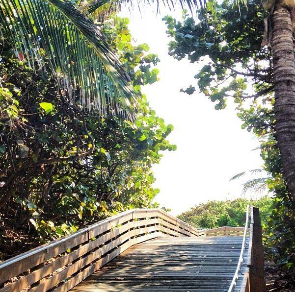Beach bound in West Palm Beach, Florida