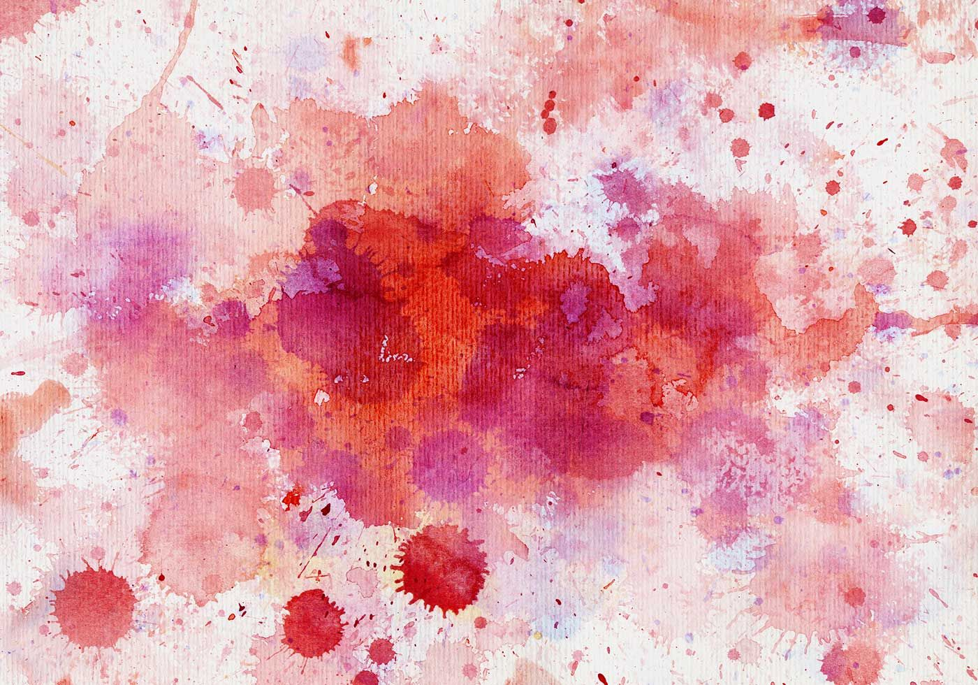Watercolour Splats In Red N Pink Photoshop Textures Jpg 1400 980