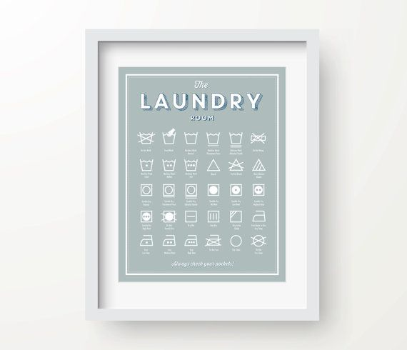 The Laundry Room Print Instant Download Laundry Room Decor