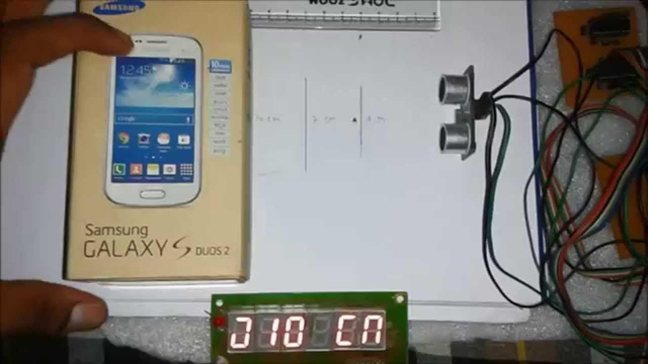 Distance Measurement Using Ultrasonic Sensor And Arduino Seven Segment Arduino Transducer Arduino Projects