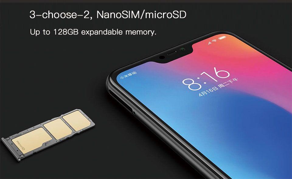 Global Version Xiaomi Mi A2 Lite 4GB RAM 64GB ROM SmartPhone
