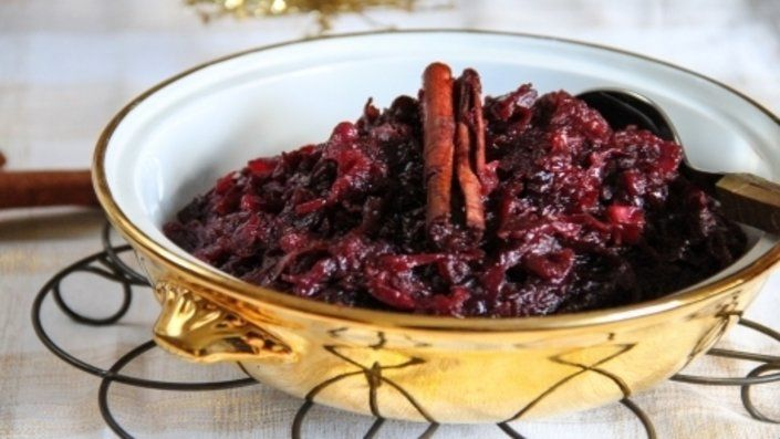 Spiced Red Cabbage Recipe Red Cabbage Recipes Food Network Recipes Spiced Red Cabbage