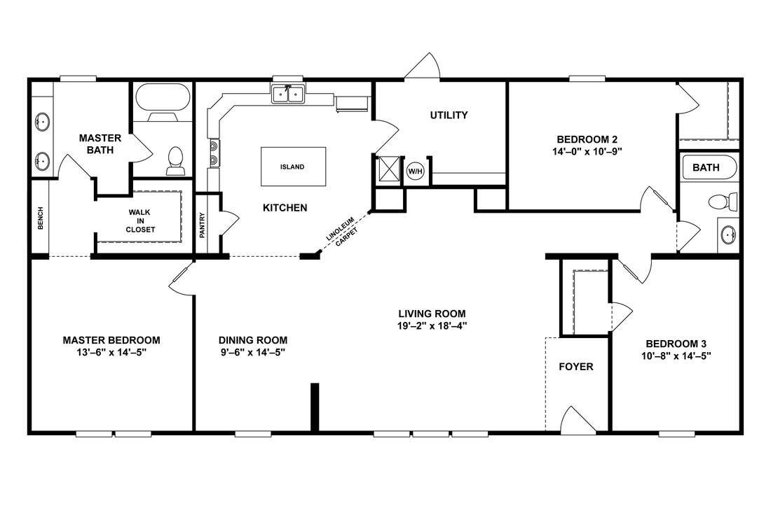 Doublewide Home Floor Plans At Home Connections Barndominium Floor Plans Floor Plans Pole Barn House Plans