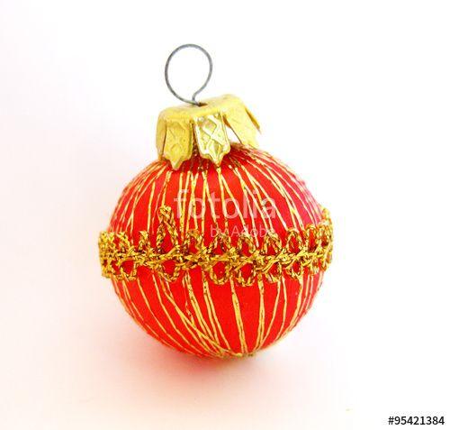 Bolas rojas y doradas de Navidad.  #fotografia #photography #photo #foto #microstock #buy #sold #photographer #fotografo