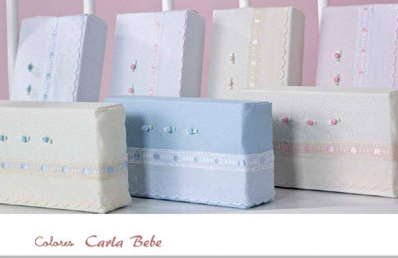 Sabanas conjunto tres piezas colección Carlabebé.   Ropa-bebe.es