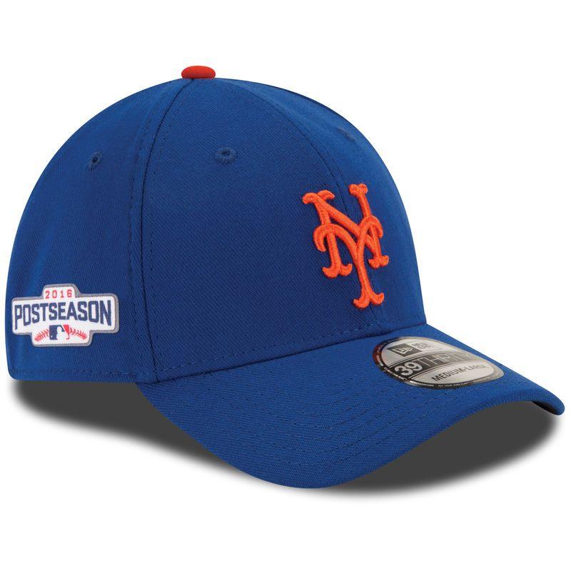 timeless design d5b62 2eb01 New York Mets New Era 2016 Postseason Side Patch 39THIRTY Flex Hat - Royal