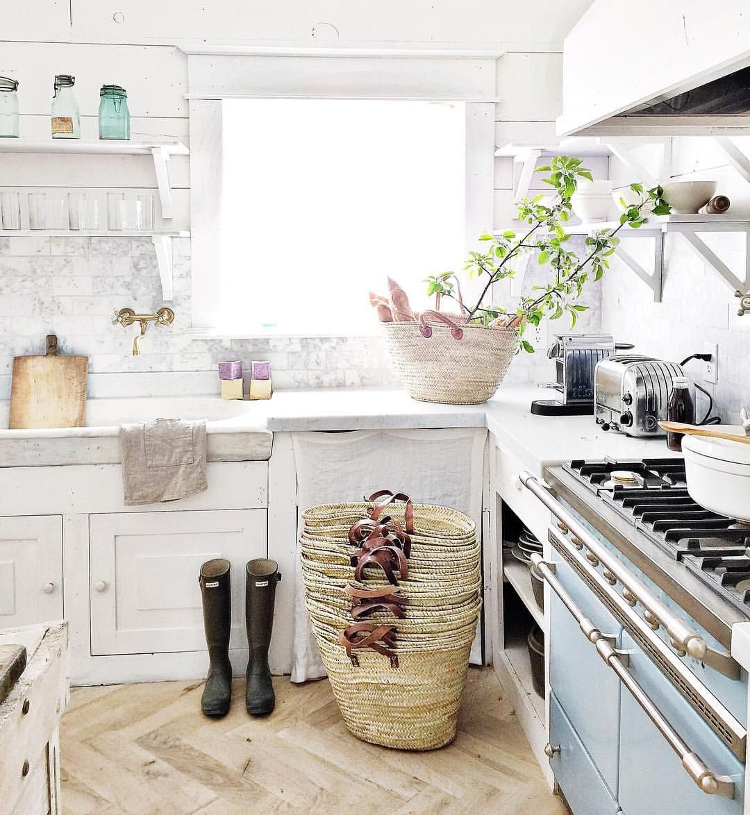 "Lifestyle Dream Kitchen: Dreamy Whites Lifestyle On Instagram: ""French Market"