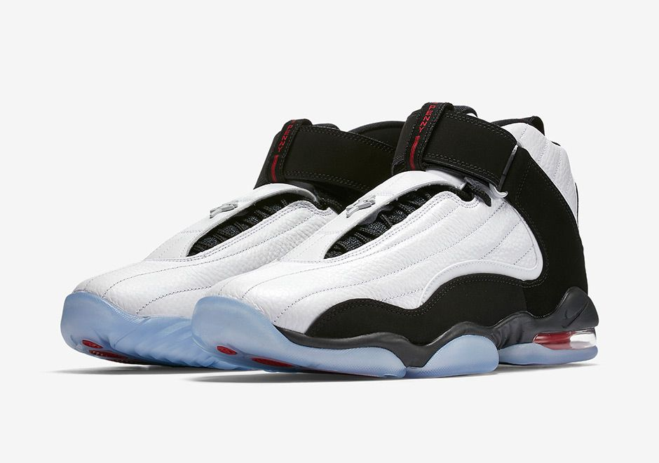 best service e8462 8a83a The Nike Air Penny 4 True Red Miami Heat