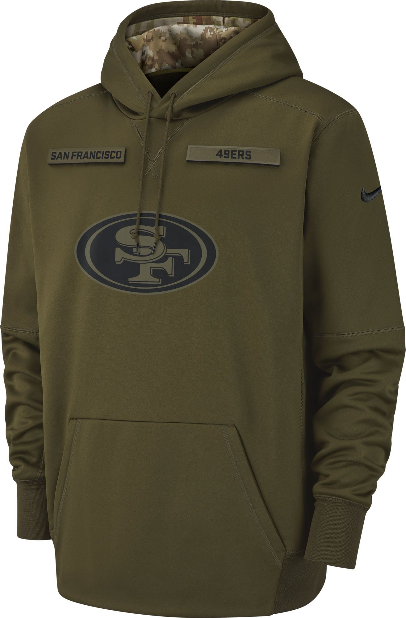 77a173fa4e21 Nike Men s Salute to Service San Francisco Therma-FIT Performance Hoodie