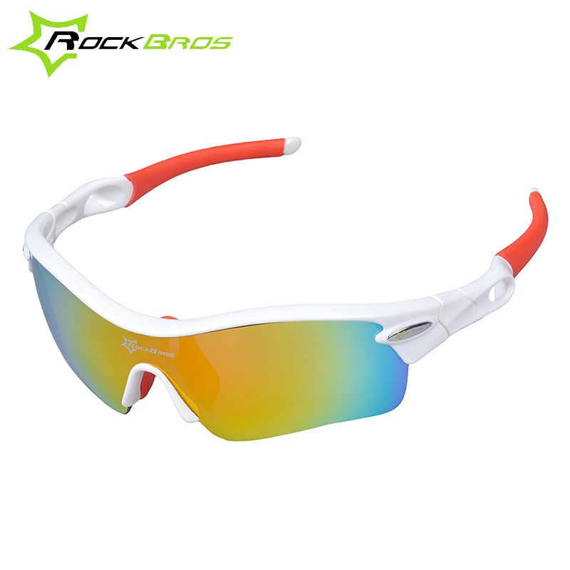 0726fca9d4 Hot! RockBros Polarized Cycling Sun Glasses Outdoor Sports Bicycle Glasses  Bike Sunglasses TR90 Goggles Eyewear 5 Lens  10005