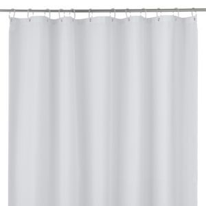 Cooke Lewis Cecina White Waffle Shower Curtain L 1800 Mm