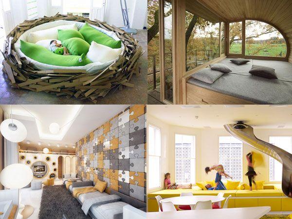 10個喚起赤子之心的臥室設計
